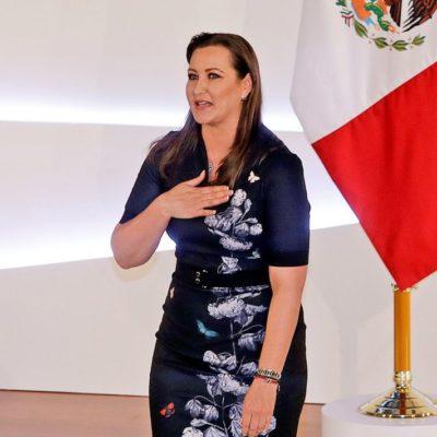 MUERE MARTHA ÉRIKA ALONSO: Durante 10 días, la primera mujer al frente del Gobierno de Puebla