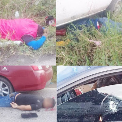 VIOLENCIA EN EL TRIÁNGULO DORADO DEL HUACHICOL: Enfrentamiento deja seis muertos en Tabasco