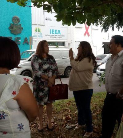 RECLAMAN A CANDY RAYGOZA FALTA DE APOYOS: Se inconforman trabajadores del IEEA; dicen que pasan hasta 'vergüenzas' por no tener ya ni uniformes