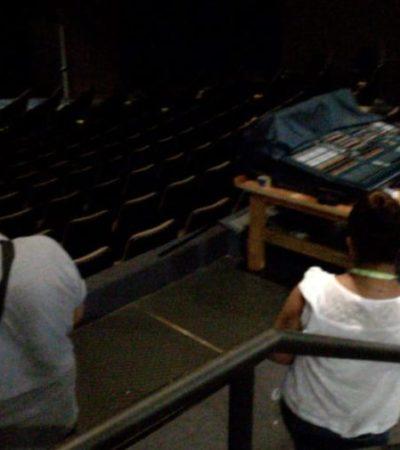 Investiga Derechos Humanos al Teatro de la Ciudad por obstaculizar espacios para personas discapacitadas