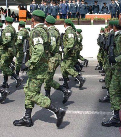 Inicia AMLO su gobierno y refuerza Cozumel con militares