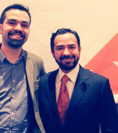 Nombran a 'Chanito' Toledo nuevo dirigente de Movimiento Ciudadano en Quintana Roo