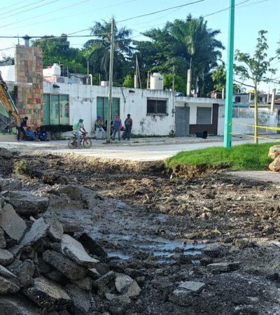 Busca la Secretaría de Infraestructura de QR, más de 250 mdp para atender problemas de baches en Chetumal durante el primer semestre de 2019