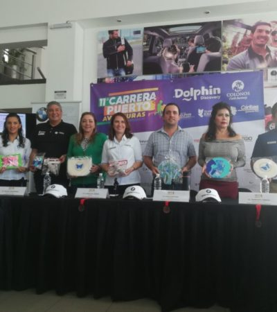 Anuncian carrera a beneficio en Puerto Aventuras