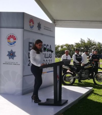 Acepta Mara Lezama que aún no hay fecha para la revisión de las concesiones de transporte