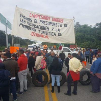 Campesinos podrían reanudar bloqueos carreteros en caso de incumplimiento del gobierno de OPB
