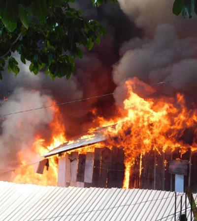 TRISTE NOCHEBUENA: Consume el fuego 150 casas en Guerrero; hay 350 damnificados