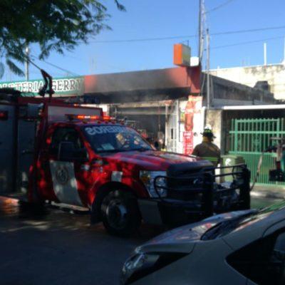 Mal uso de la pirotecnia ocasiona incendio en Playa del Carmen