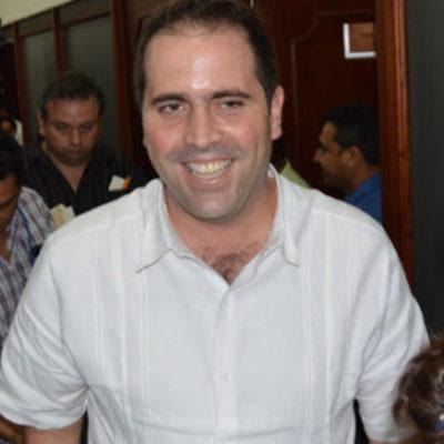 """Congreso de Quintana Roo se dice """"atado de manos"""" para proceder contra Juan Pablo Guillermo, el ex financiero de Borge"""