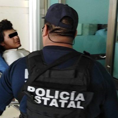 'Arrojan' herido de bala en El Pedregal