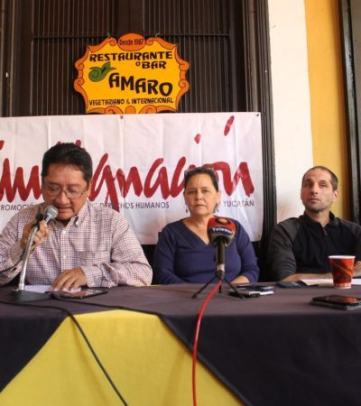 Persiste conflicto por megagranja de cerdos en Homún; empresa intentar remover a juez que amparó a lugareños