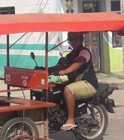 Mototaxis de José María Morelos explotan a sus pasajeros en temporada navideña