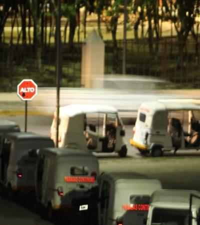 Cónclave de mototaxistas en el poniente de Villas del Sol; alistan expansión a Real Ibiza