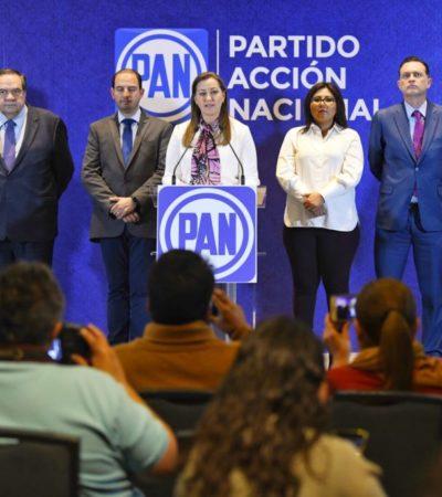 Acudiría PAN a instancias internacionales si anulan elección en Puebla; denuncia presión de Morena