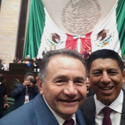 """""""En marzo comenzarán a verse los resultados"""", asegura el senador José Luis Pech"""