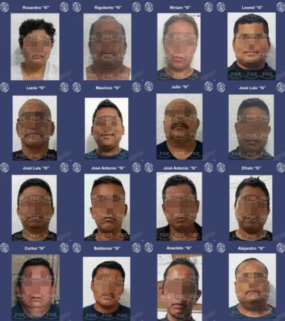 DAN PRISIÓN PREVENTIVA A POLICIAS 'REBELDES': Vinculan a proceso a 16 agentes de que amotinaron contra Jesús Pérez Abarca en Cancún