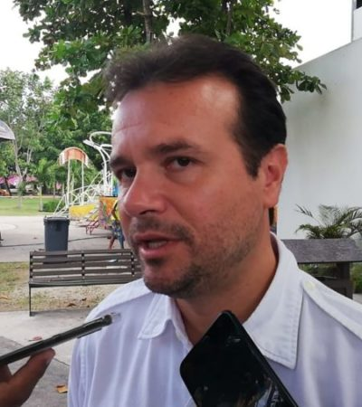 Asegura Pedro Joaquín que Cozumel rinde a diario un informe sobre seguridad al gobierno federal