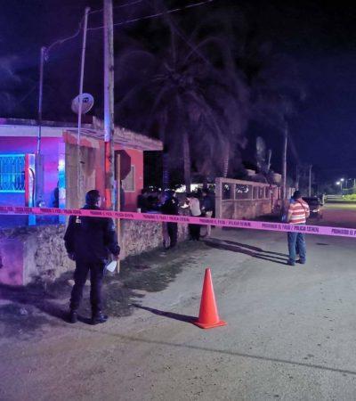 Intento de ejecución y persecución a balazos en Chetumal