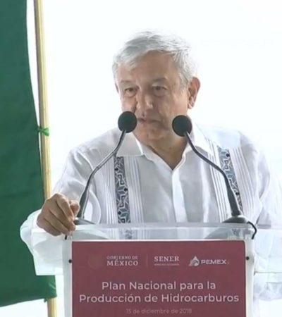 Producirá México hasta 2.4 millones de barriles diarios según Plan Nacional de Hidrocarburos