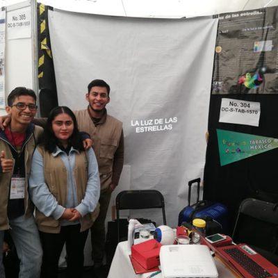 Competirán proyectos de universitarios tabasqueños en eventos científicos de Londres y Brasil