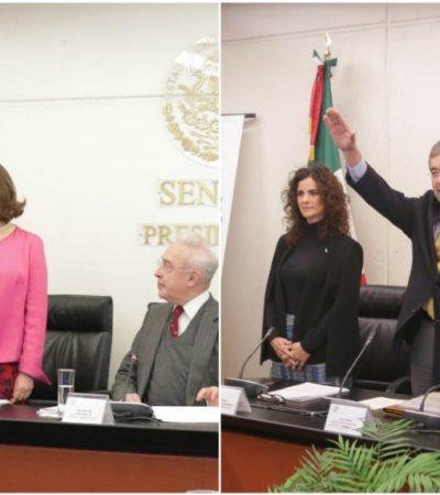 Ratifica Senado a embajadores; Ramón de la Fuente y Martha Bárcena ante la ONU y EU, respectivamente