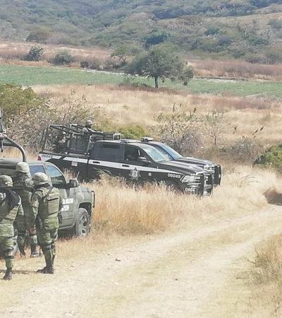 Interceptan, roban y entierran camión de valores en Guanajuato; obtienen botín de 118 mdp