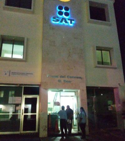 Confirman recorte de personal en el SAT de Playa del Carmen