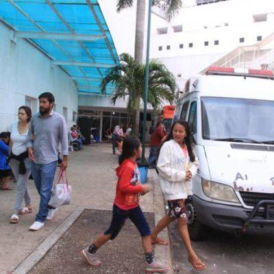 Colapsan servicios de salud en Tabasco por paro de trabajadores que exigen su aguinaldo