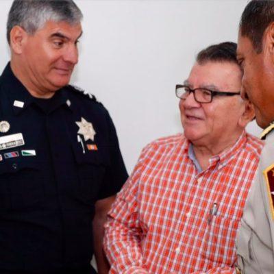 Encabeza Carlos Joaquín la sesión del Gabinete Estratégico de Seguridad que por primera vez incluye al delegado del gobierno de AMLO