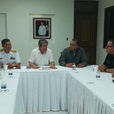Sesionó por segunda ocasión consecutiva la Mesa de Seguridad en Quintana Roo