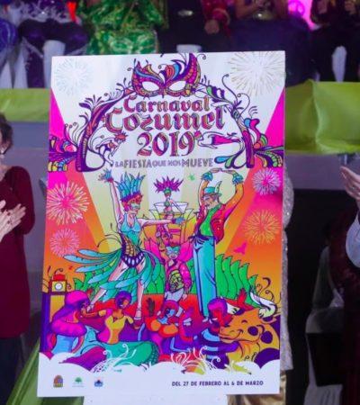 PRESENTAN CARNAVAL COZUMEL 2019: La fiesta más grande del Caribe mexicano se realizará del 27 de febrero al 6 de marzo