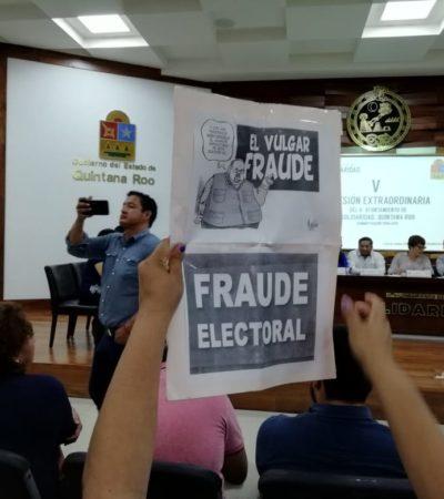 Toman protesta a delegado de Puerto Aventuras; contrincantes serán consejeros