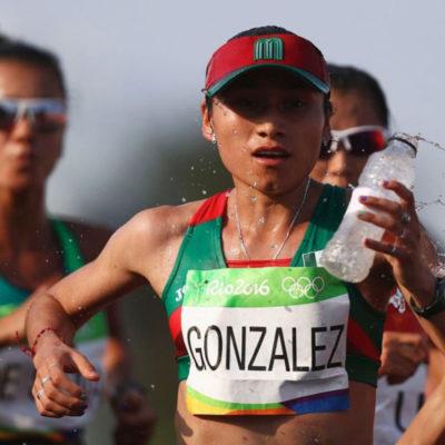 Suspenden a la galardonada marchista mexicana Lupita González por dopaje; obtuvo plata en Río 2016