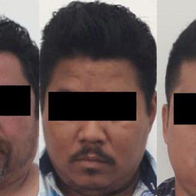 Detienen a trío de asaltantes que asolaba Cozumel