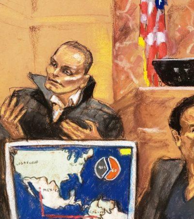 Corre 'sangre' en testimonios ofrecidos por el colombiano 'Chupeta' durante juicio contra 'El Chapo'