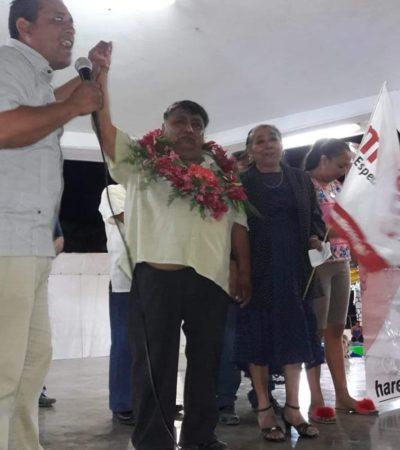 Reeligen a alcalde de Tihosuco