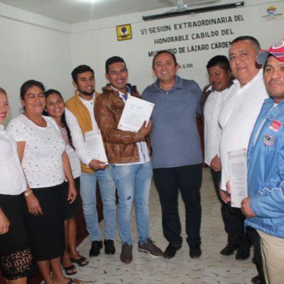Sesiona Cabildo de Lázaro Cárdenas para tomar protestas de alcaldes, delegados y subdelegados municipales