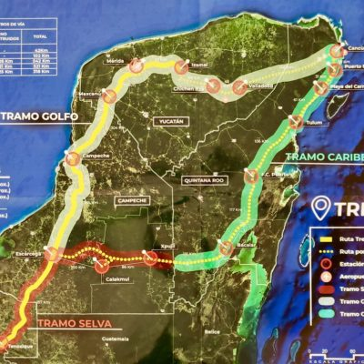 Tendría tren maya una ciclovía en tramo quintanarroense