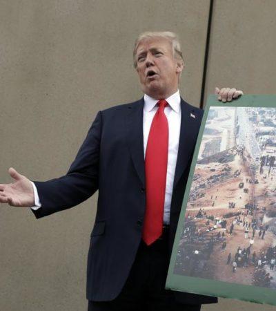 Declara Trump que México ya paga el muro con el ahorro del T-MEC