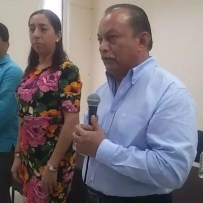 Rafael Pantoja asume el cargo de rector de la Uimqroo