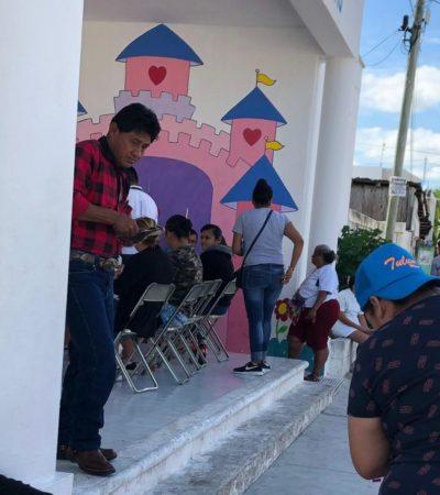 Ayuntamiento de Solidaridad minimiza acusaciones de acarreo durante elección para delegado de Puerto Aventuras