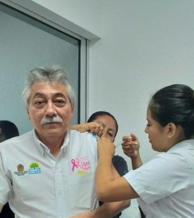 Para prevenir la influenza, 112 mil dosis de vacunas están disponibles en centros de salud de la zona norte de QR