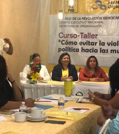 Colocará PRD a mujeres en distritos electorales competitivos