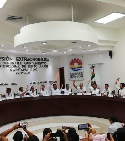APRUEBAN REFINANCIAMIENTO DE LA DEUDA EN BJ: Autoriza Cabildo a Mara Lezama a negociar con bancos para tratar de bajar tasas de interés para ahorrarse hasta 40 mdp anuales