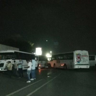 Advierten autoridades que no cesarán los operativo en el transporte público, a pesar de bloqueo de Tucseros