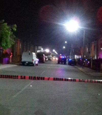 DOBLE EJECUCIÓN DURANTE LA MADRUGADA: Matan a dos personas en un parque del fraccionamiento Kusamil de la Región 110 de Cancún