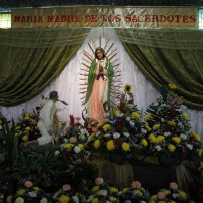 Inseguridad en Cancún lastima la fe guadalupana