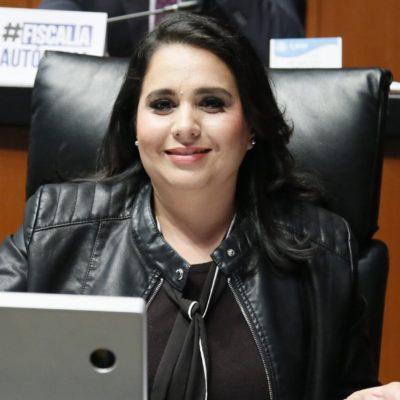 Mayuli Martínez Simón, integrante de la Comisión Permanente Nacional del PAN