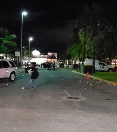 EJECUCIÓN EN LA ZONA HOTELERA DE CANCÚN: Matan a balazos a un taxista y tres personas más resultaron heridas