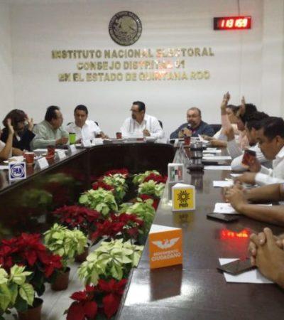 Instalan el Consejo Distrital 01 que organizará las elecciones durante el 2019 en Playa del Carmen